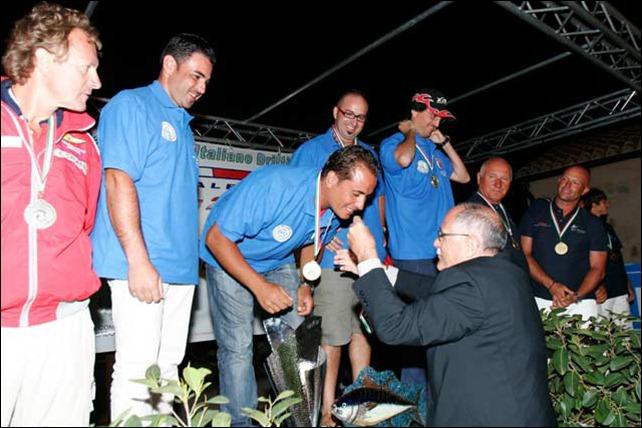 Antonello Salvi premiazione Campionato Drifting