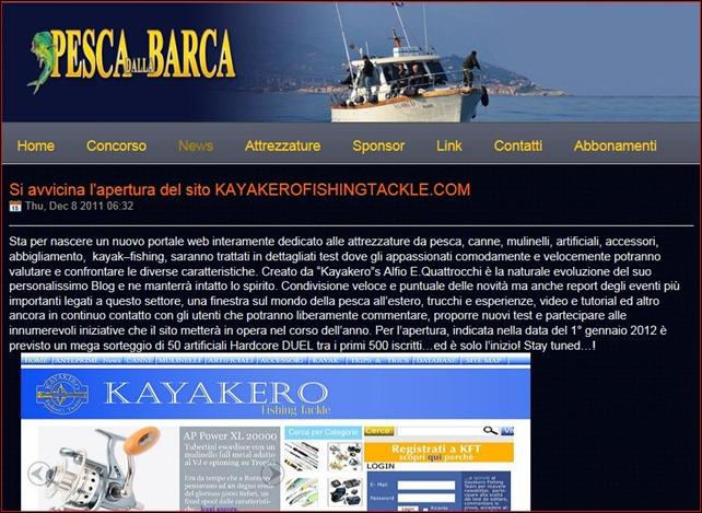 Promo pesca dalla barca
