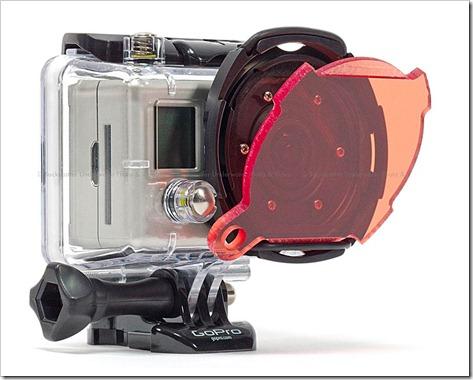 Backscatter-flat-dome-per-GoPro-con-filtri