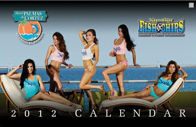 Fish & Chips calendar 2012