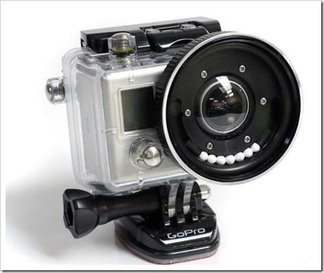 Blur Fix Flat lens GoPro