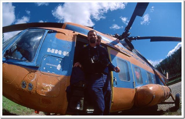 Siberia-discesa-Synyaya-arrivo-elicottero-Mi-8