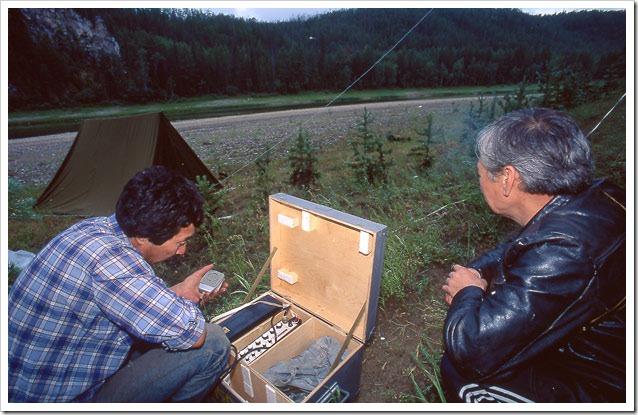 Siberia-discesa-Synyaya-comunicazioni-via-radio