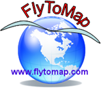 logo Fly To Map
