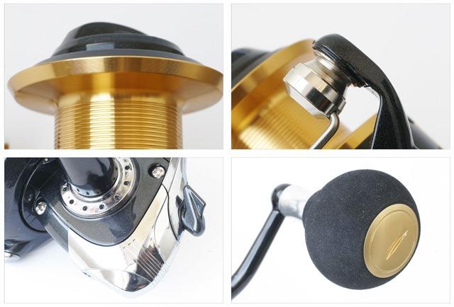 BULOX-Goldlite-6000-bobina-guidafilo-corpo-e-manopola