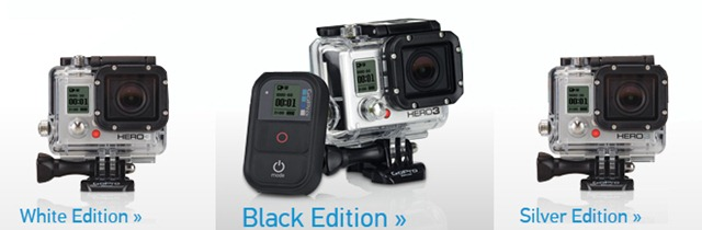 GoPro Hero3 total