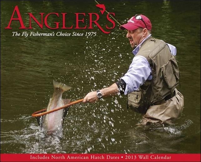 Anglers 2013 calendar