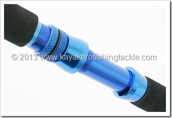BLUE--TROLLING-----Portamulinello-alluminio