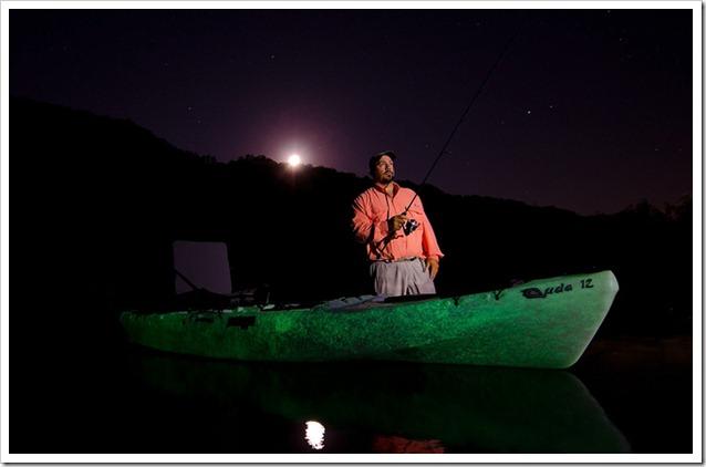 Cuda Kayak Illuminati glow
