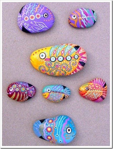 FISH ROCK Painting 1