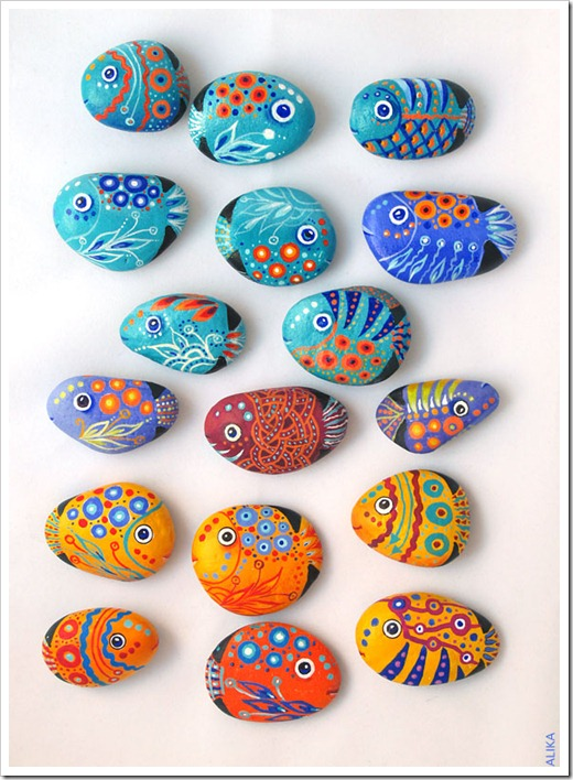 FISH ROCK Painting 2