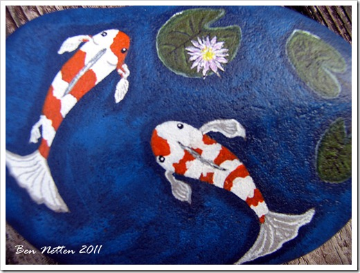 FISH ROCK Painting 4