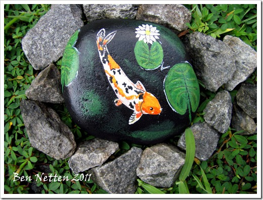 FISH ROCK Painting 5