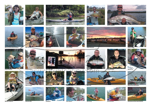 Kayak Fishing Calendar 1