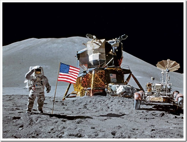 National Geographic Magazine 1971 Apollo 15