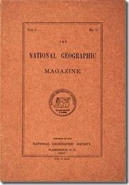 National Geographic Magazine  prima copia 1888