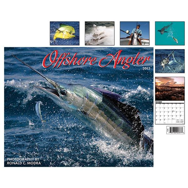 Offshore angler calendar