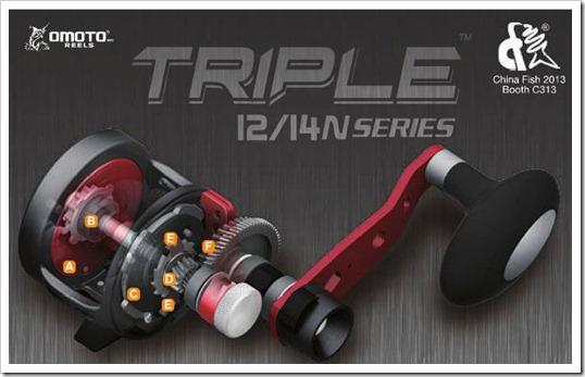 Omoto Triple 12 14 N