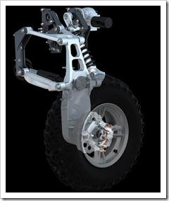 Quadski--rear-suspension