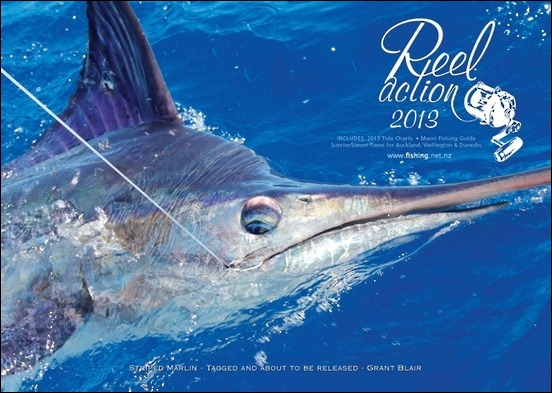 Reel Action Calendar 2013 cover