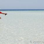 Pesca ai Tropici da riva