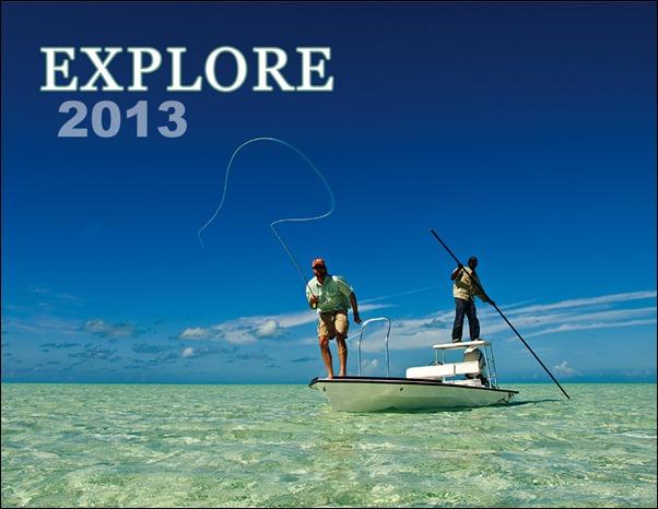Explore Calendar 2013 FRONTCOVER