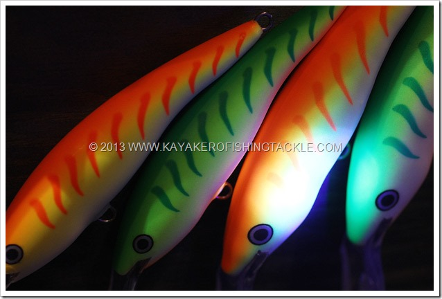 PescareShowVicenza2013-Rapala-UV-con-lampada-di-Wood