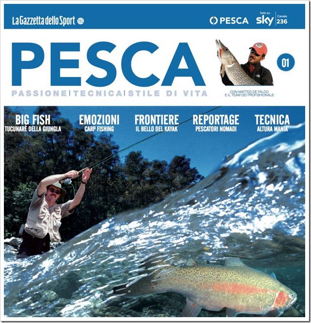 Pesca Magazine cover  1