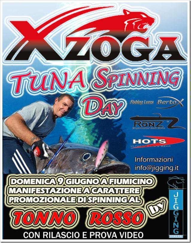 Tuna Spinning XZoga