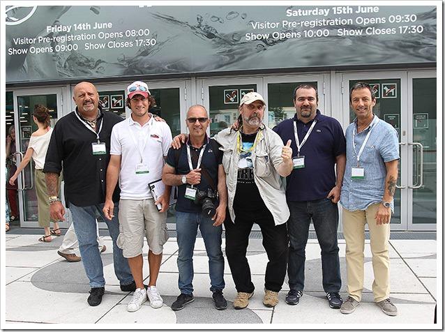 EFTTEX-VIENNA-2013---Con-lo-staff-di-Jigging-Italia