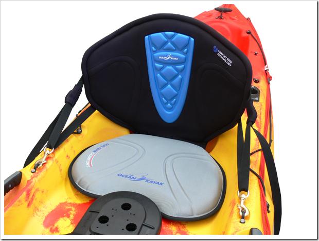 Ocean Kayak nuovo sedile