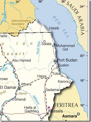 sudan costa sul mar Rosso