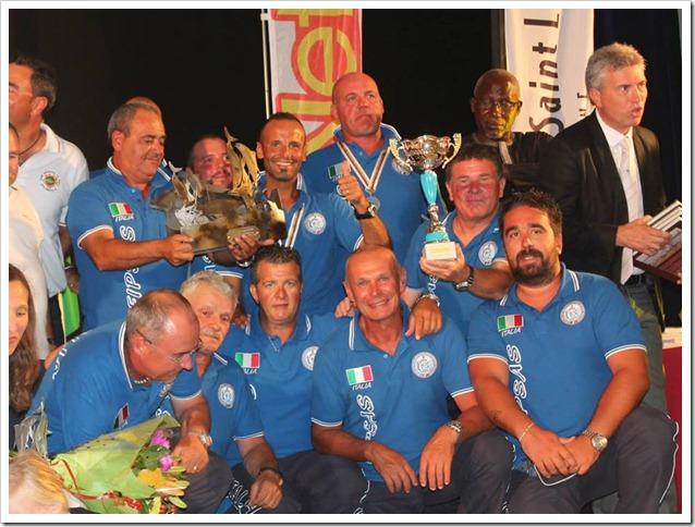Championat du Monde Big Game premiazione