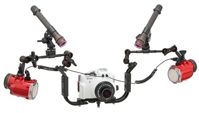 Nikon 1 AW1 accessori sub