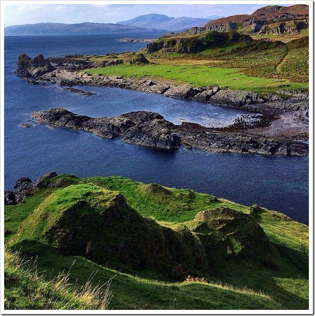 IPhone 5 photos Isle di Kerrea Oban Scotland
