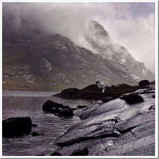 IPhone 5 photos LLock Coruisk isola di Skye 2
