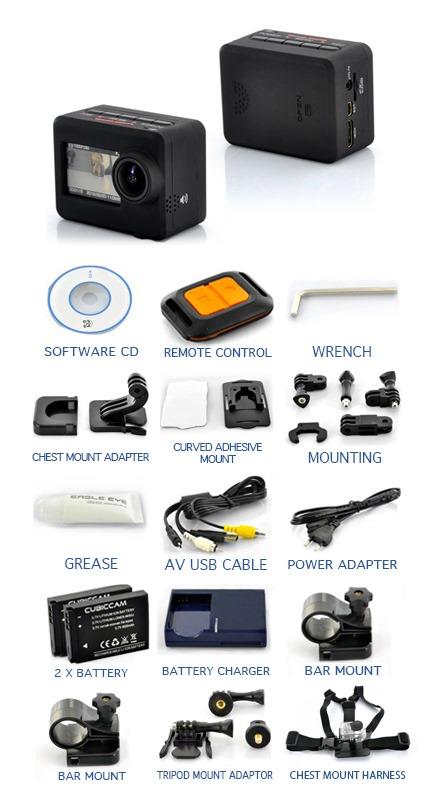 NorCam accessori