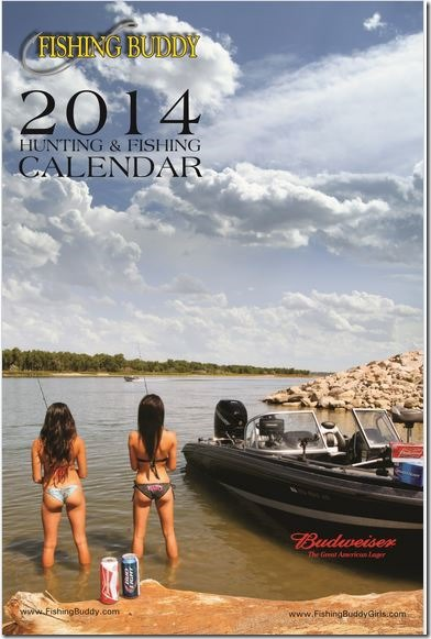 Calendar cover Fishing Buddy