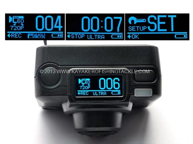 Helix Sport Camera alcune funzioni diplay