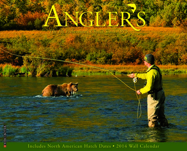 MegaCalendars-Willow-Creek-Press-2014-Wall-Calendar-Anglers-9781607557845-Front