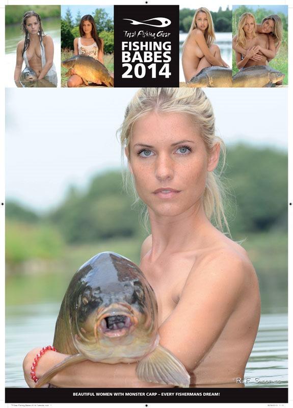 TFGear Fishing Babes 2014 Calendar.indd