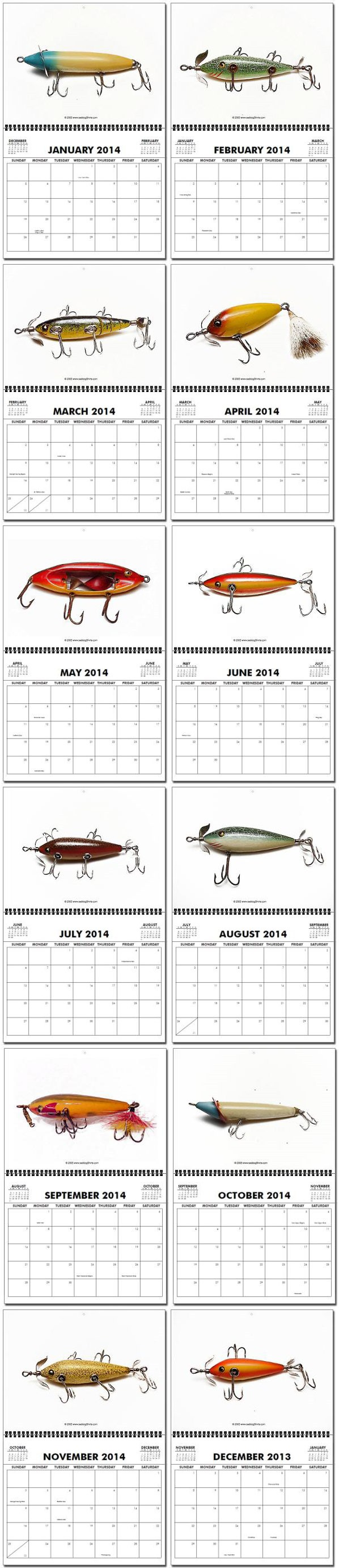 Vintage-lures-Calendar