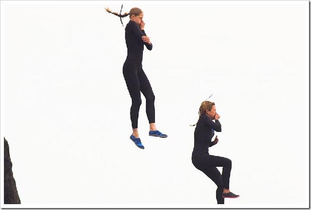 Ocean Girls Prova salto