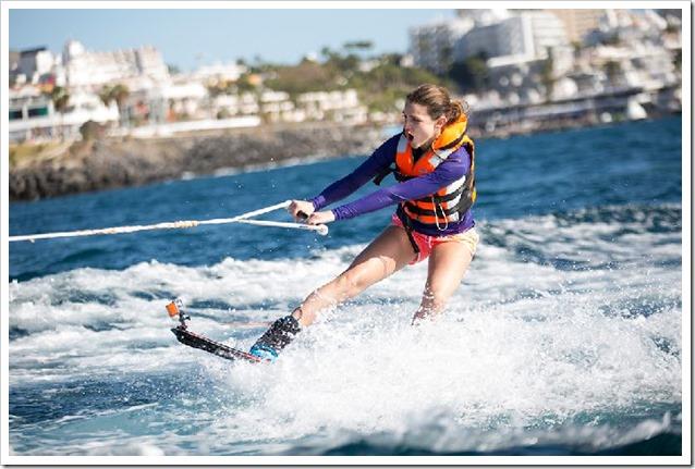 Ocean Girls prova sci nautico