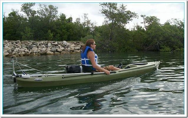 SKIMMER Kayak Motor 3