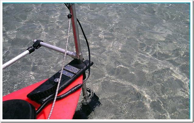 SKIMMER Kayak Motor