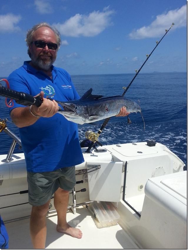 Ventotene-Big-Fish-Tournament--Angelo con aguglia imperiale