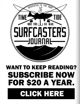 SURF CASTER JOURNAL 2