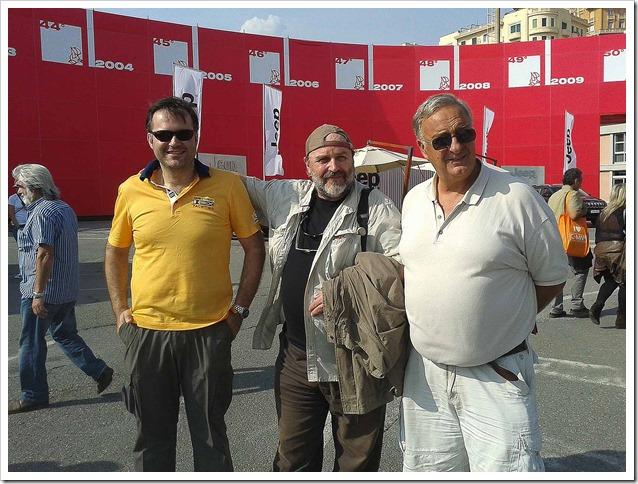 Salone-Nautico-Genova-con-gli-amici-Kurt-e-Biggio