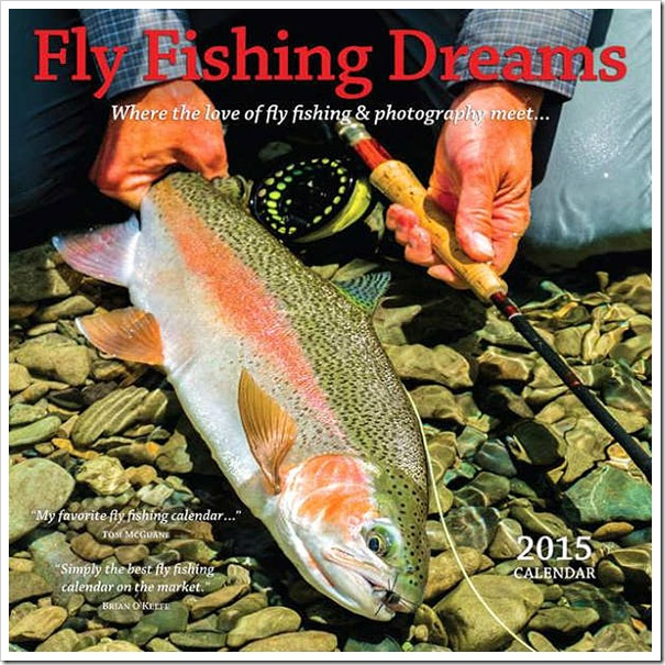 Fly Fishing Dreams calendar-2015-cover